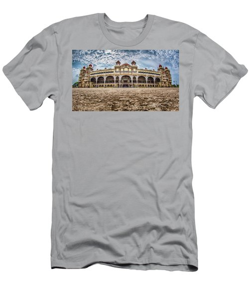 Men's T-Shirt (Athletic Fit) featuring the photograph Mysore Palace by Chris Cousins