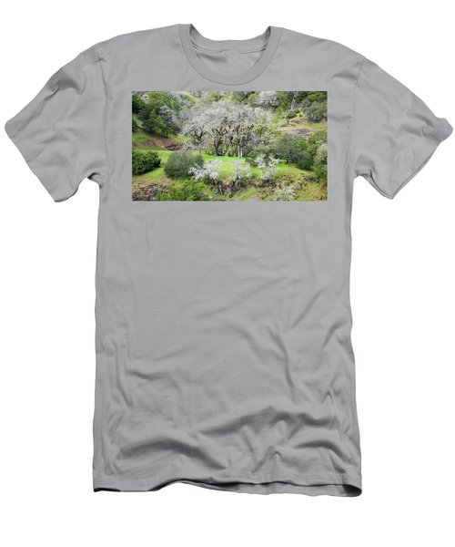 Mysterious Landscape In Sonoma County Men's T-Shirt (Athletic Fit)
