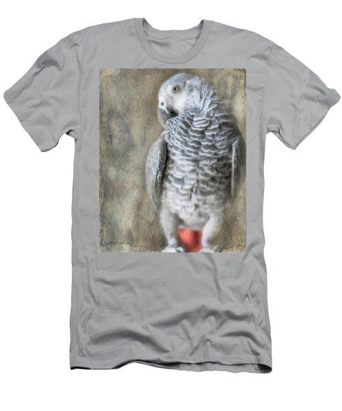 Mysterious Parrot Men's T-Shirt (Athletic Fit)