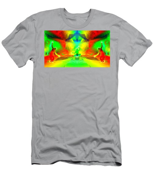 Men's T-Shirt (Athletic Fit) featuring the digital art Mystic Universe 9 by Derek Gedney