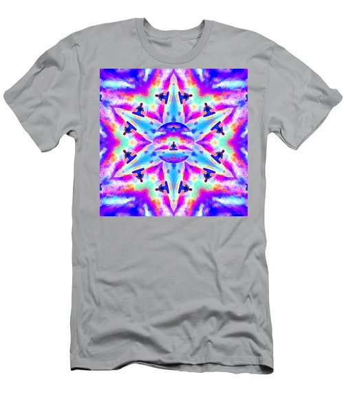 Men's T-Shirt (Athletic Fit) featuring the digital art Mystic Universe Kk 10 by Derek Gedney