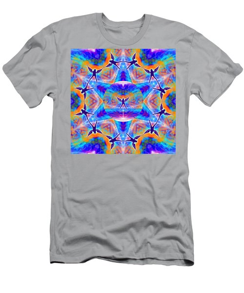 Men's T-Shirt (Athletic Fit) featuring the digital art Mystic Universe Kk 15 by Derek Gedney