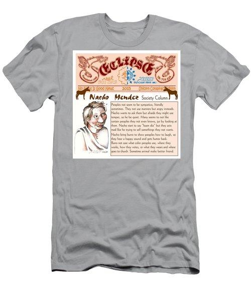Real Fake News Society Column 2 Men's T-Shirt (Athletic Fit)
