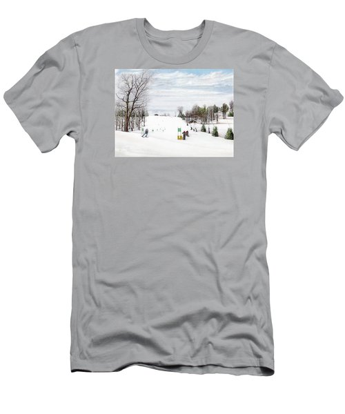 Nastar At Seven Springs Mountain Resort Men's T-Shirt (Athletic Fit)