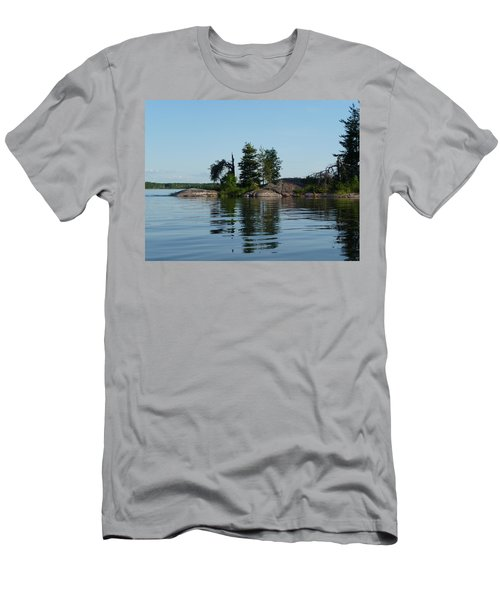 Natural Breakwater Men's T-Shirt (Athletic Fit)