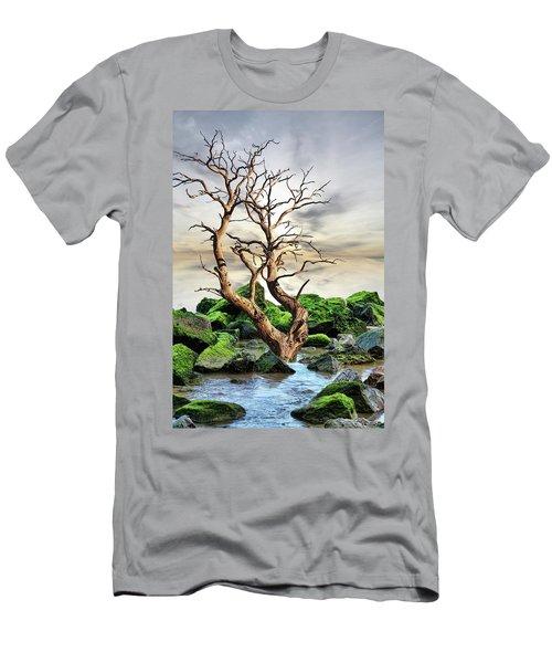 Men's T-Shirt (Slim Fit) featuring the photograph Natural Surroundings by Angel Jesus De la Fuente