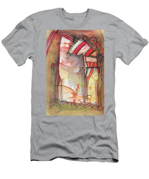 Nautical Mystery Men's T-Shirt (Slim Fit) by Sandra Church