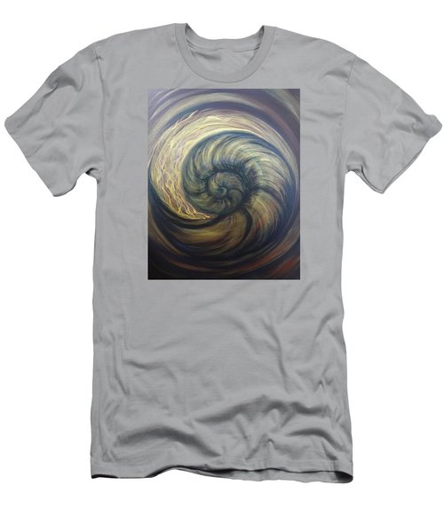 Nautilus Spiral Men's T-Shirt (Athletic Fit)