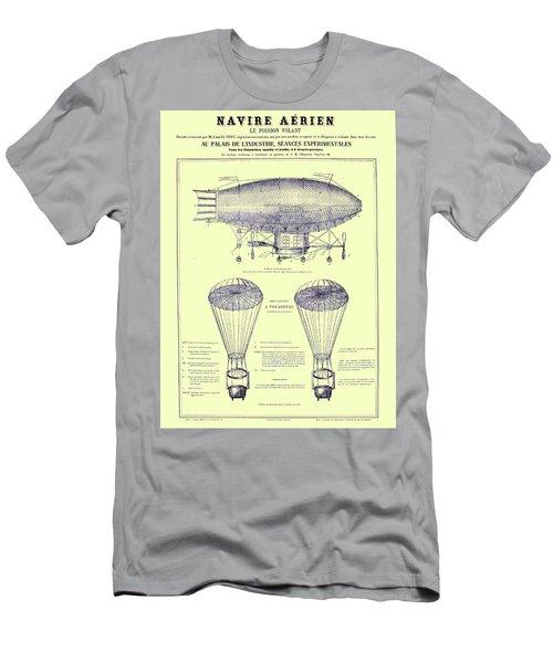 Navire Aerien Men's T-Shirt (Athletic Fit)