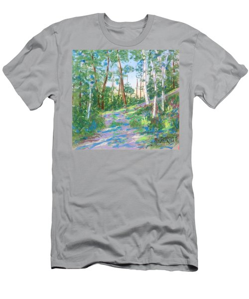 Near The Dingle Tower Halifax  Men's T-Shirt (Slim Fit) by Rae  Smith