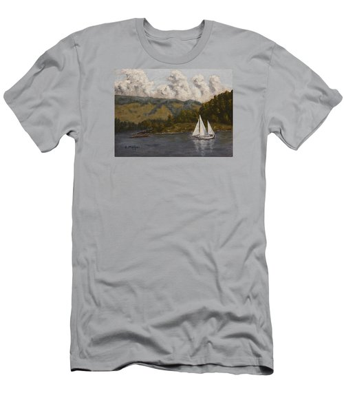 Nearing The Point Men's T-Shirt (Slim Fit) by Alan Mager