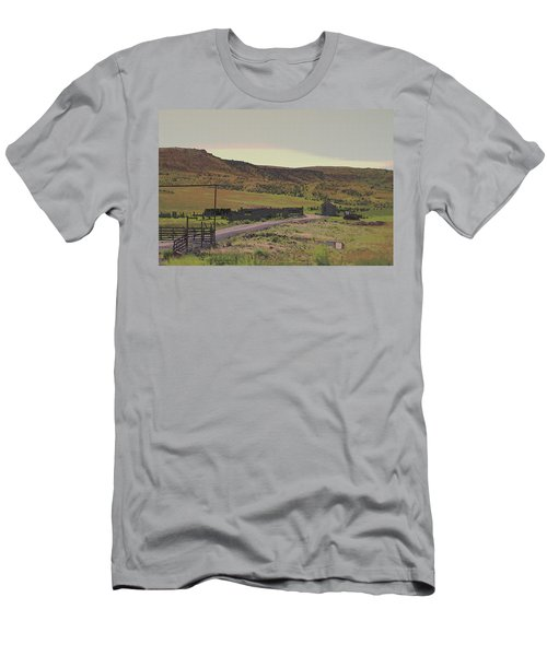 Nebraska Farm Life - The Paddock Men's T-Shirt (Athletic Fit)