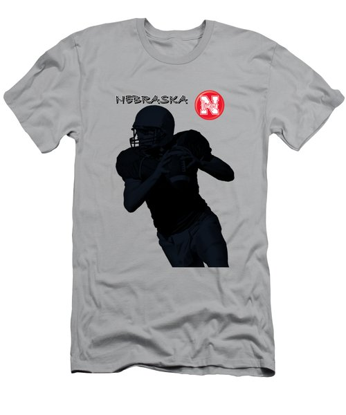 Nebraska Football Men's T-Shirt (Athletic Fit)