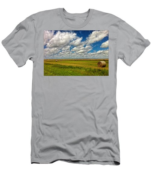 Nebraska Wheat Fields Men's T-Shirt (Athletic Fit)