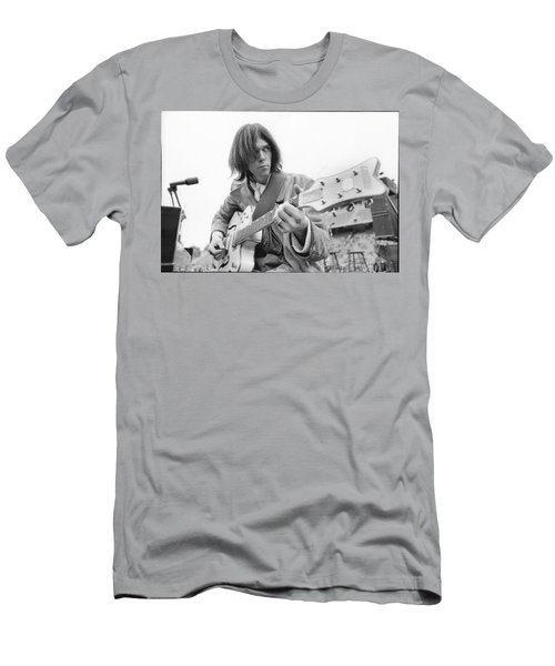 Neil Young Men's T-Shirt (Athletic Fit)