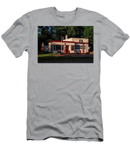 Nelsonville Phillips 66 Men's T-Shirt (Slim Fit) by Trey Foerster
