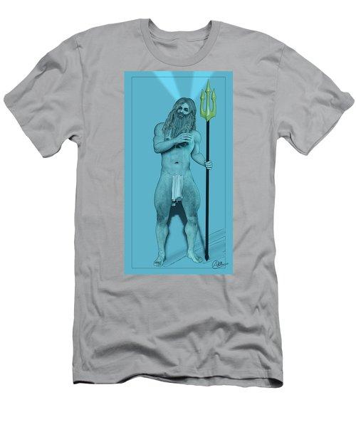 Blue Neptune Men's T-Shirt (Athletic Fit)