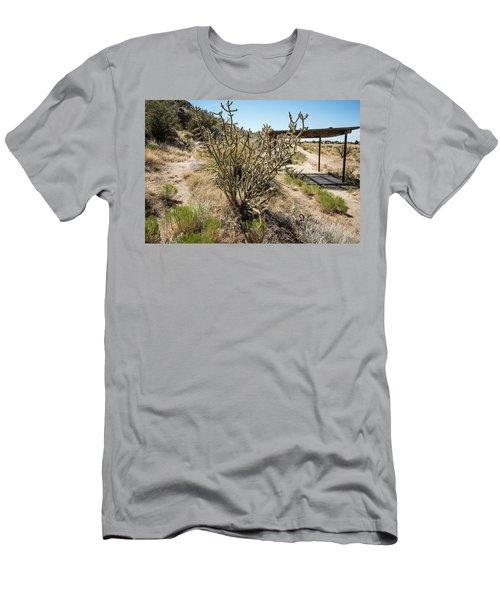 New Mexico Cholla Men's T-Shirt (Athletic Fit)