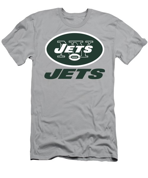 New York Jets Translucent Steel Men's T-Shirt (Athletic Fit)