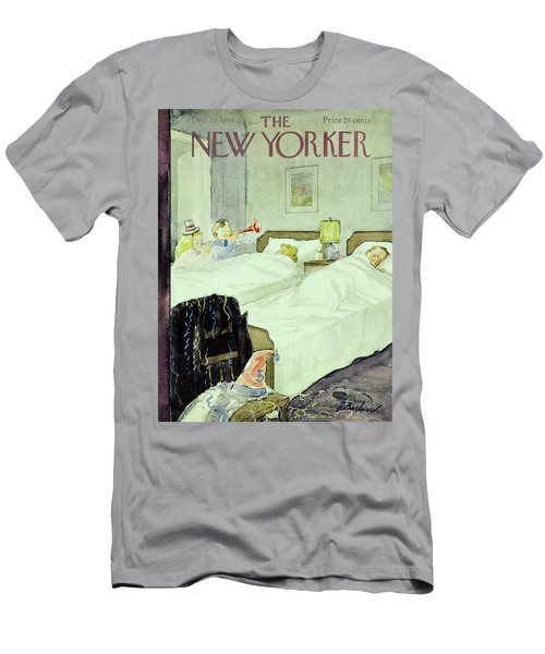 New Yorker December 29 1956painting Men's T-Shirt (Athletic Fit)
