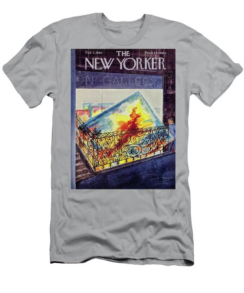New Yorker February 03 1962 Men's T-Shirt (Athletic Fit)