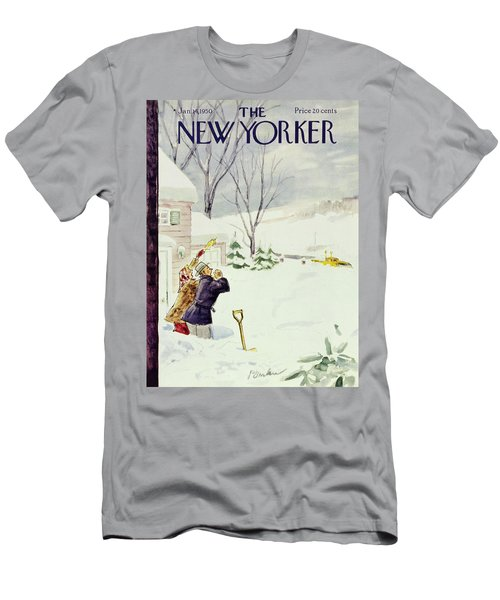 New Yorker January 14 1950 Men's T-Shirt (Athletic Fit)
