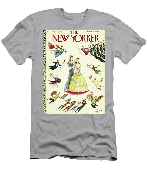 New Yorker January 25 1941 Men's T-Shirt (Athletic Fit)