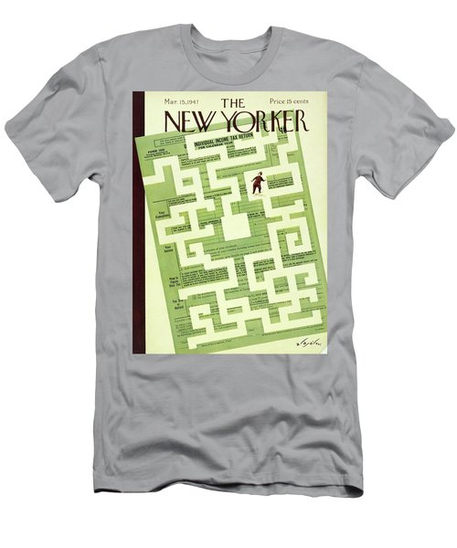 New Yorker March 15 1947 Men's T-Shirt (Athletic Fit)