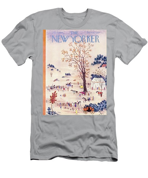 New Yorker October 22 1949 Men's T-Shirt (Athletic Fit)