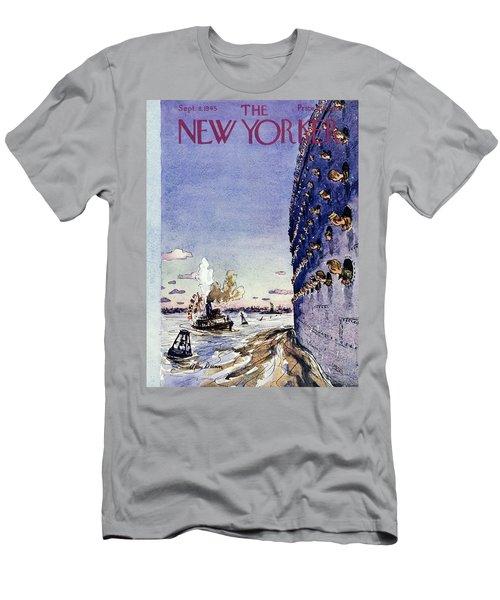 New Yorker September 8 1945 Men's T-Shirt (Athletic Fit)