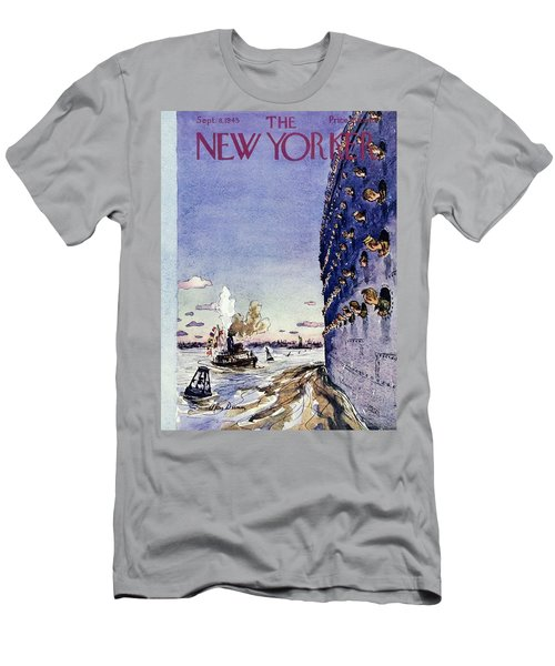 New Yorker September 8 1945 Men's T-Shirt (Athletic Fit)