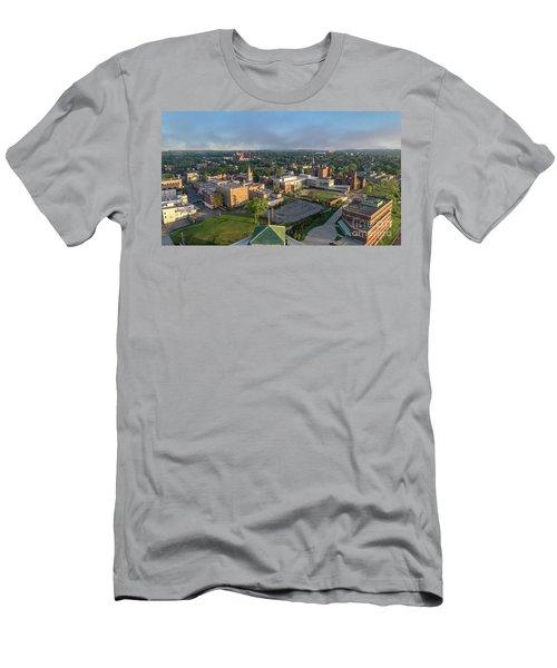 Newburgh New York At Sunrise Men's T-Shirt (Athletic Fit)