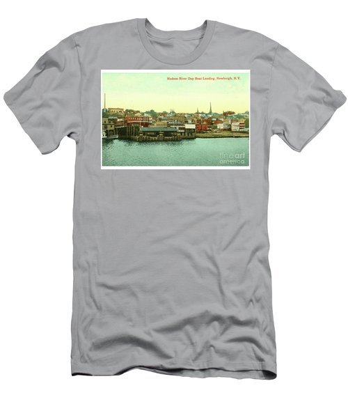 Newburgh Steamers Ferrys And River - 15 Men's T-Shirt (Athletic Fit)
