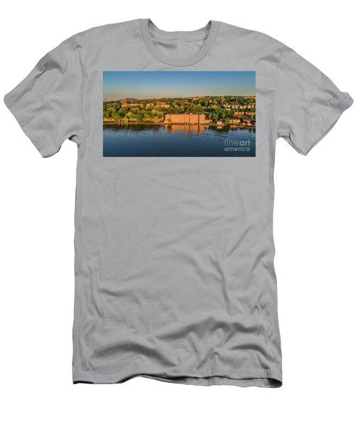 Newburgh Waterfront At Sunrise 2 Men's T-Shirt (Athletic Fit)