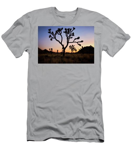 Night Silhouette  Men's T-Shirt (Athletic Fit)