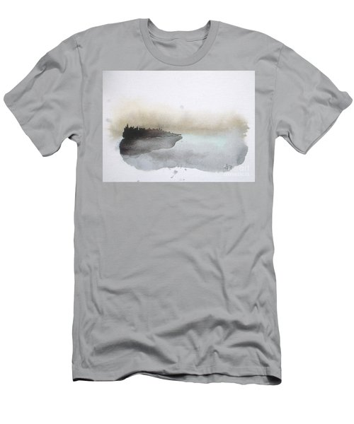 Nightfall On The Lake  Men's T-Shirt (Athletic Fit)