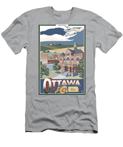 No Place Like Home Men's T-Shirt (Athletic Fit)