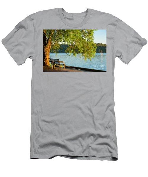 No Sails Men's T-Shirt (Athletic Fit)