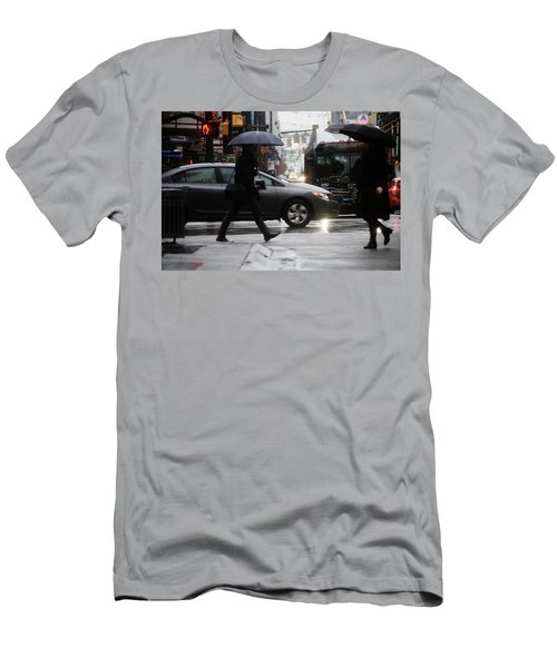 Men's T-Shirt (Slim Fit) featuring the photograph No Trees Sneeze  by Empty Wall