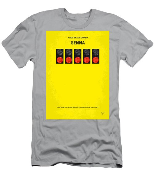 No075 My Senna Minimal Movie Poster Men's T-Shirt (Athletic Fit)