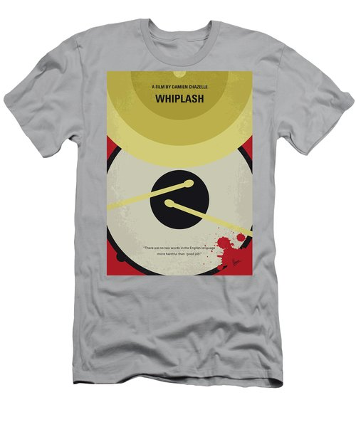 Men's T-Shirt (Slim Fit) featuring the digital art No761 My Whiplash Minimal Movie Poster by Chungkong Art