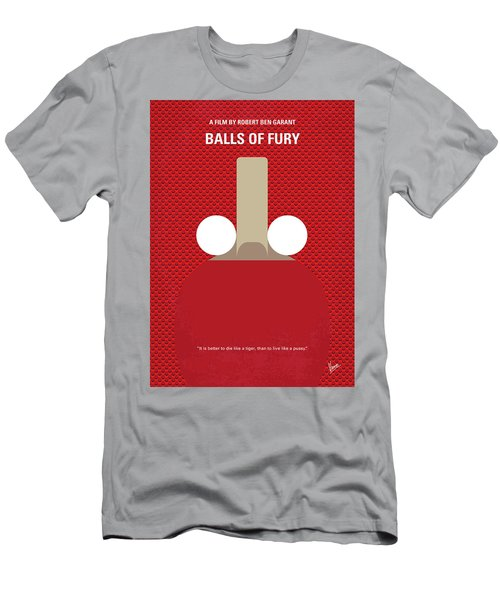 No822 My Balls Of Fury Minimal Movie Poster Men's T-Shirt (Athletic Fit)
