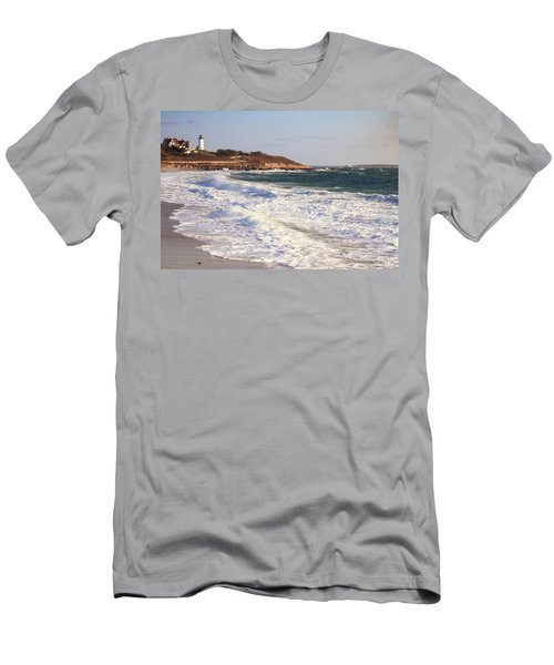 Nobska Point Seascape Men's T-Shirt (Athletic Fit)