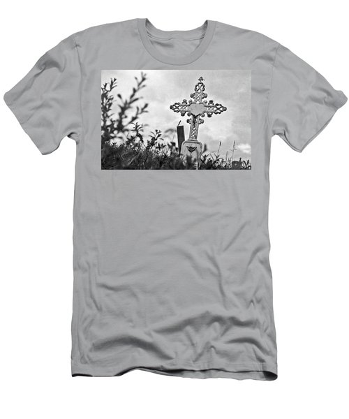 Men's T-Shirt (Slim Fit) featuring the photograph Nome by Laurie Stewart