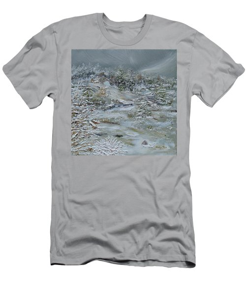 Men's T-Shirt (Athletic Fit) featuring the painting Nor'easter by Judith Rhue