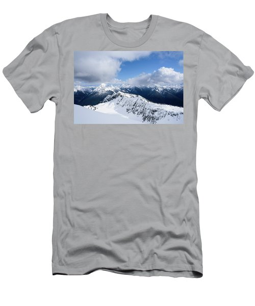 North Cascade Mountains Men's T-Shirt (Athletic Fit)