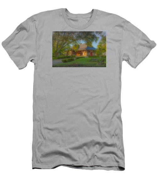 North Easton Train Station Men's T-Shirt (Athletic Fit)
