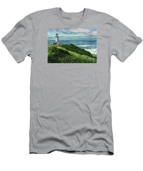 North Head Lighthouse And Beyond Men's T-Shirt (Athletic Fit)