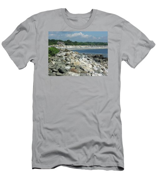 Northeast Us, Atlantic Coast, Rye Nh Men's T-Shirt (Athletic Fit)