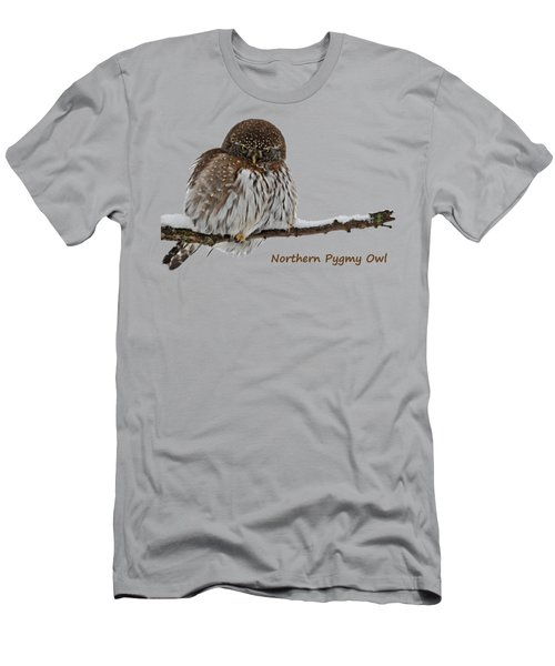 Northern Pygmy Owl 2 Men's T-Shirt (Athletic Fit)
